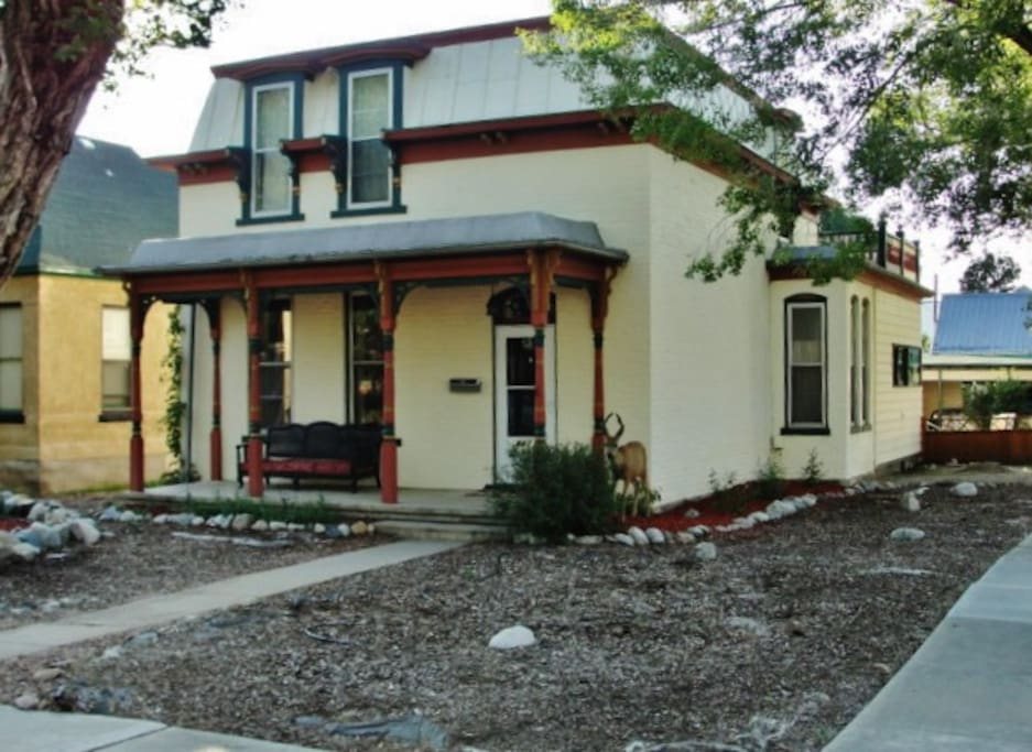 You'll love this home's terrific location, just 6 blocks away from downtown Salida's shops, art galleries, bars, and restaurants!