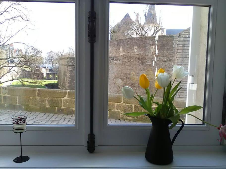 Votre studio avec vue directe sur le château
