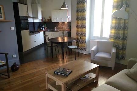 appartement ancien à la décoration contemporaine - Orléans