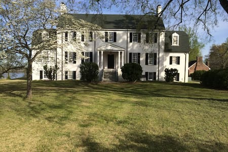 18th C. Plantation-Also Weddings, Retreats, Events - House