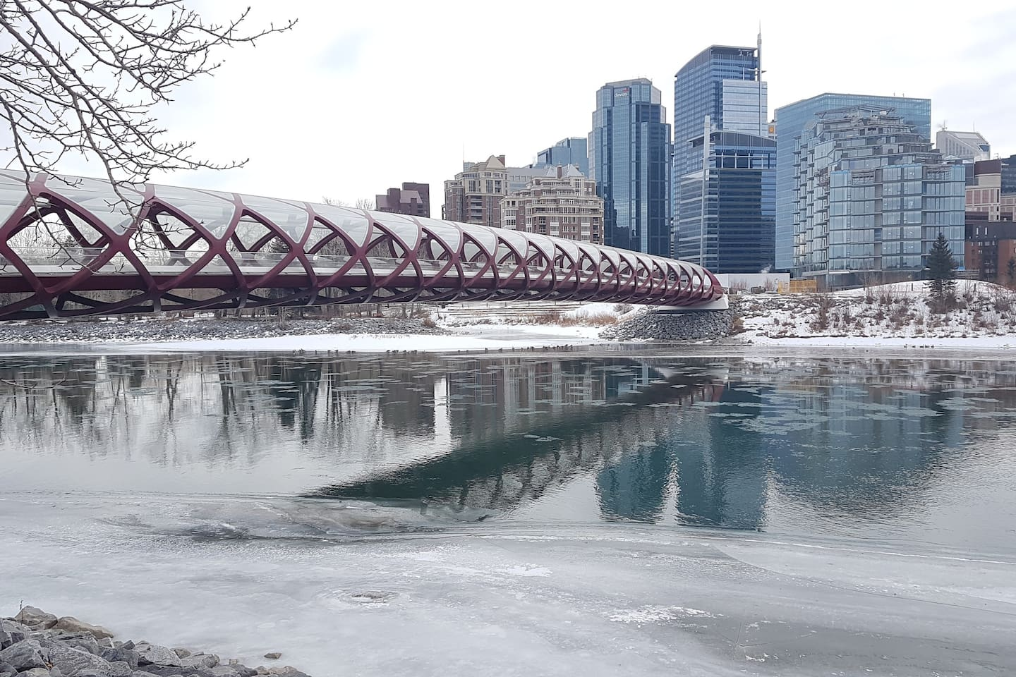 minutes away from peace bridge