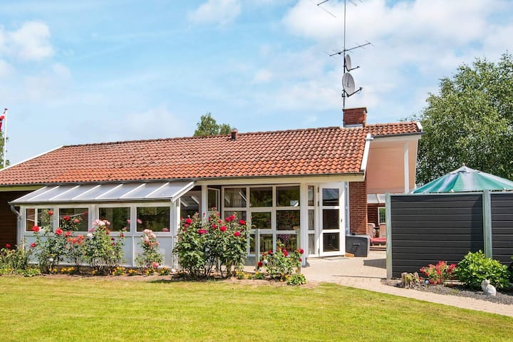 Charming Holiday Home in Jutland with Private Whirlpool