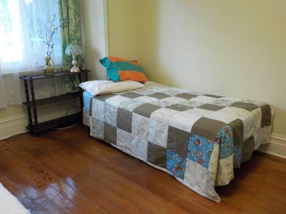 Well lit comfortable bedrooms