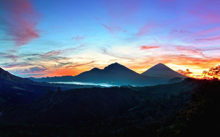 Mount & Lake Batur Campground - Kintamani