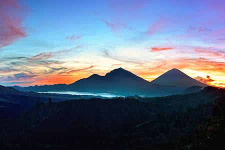 Mount & Lake Batur Campground - Kintamani - Zelt
