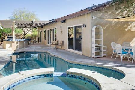 Peaceful Desert Hot Springs Pool - Desert Hot Springs - 独立屋