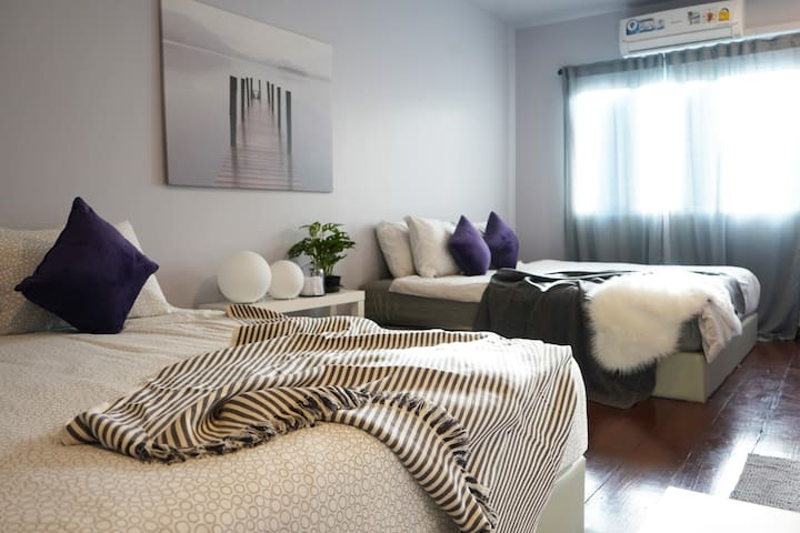 Cozy and clean bedroom for 4 pax