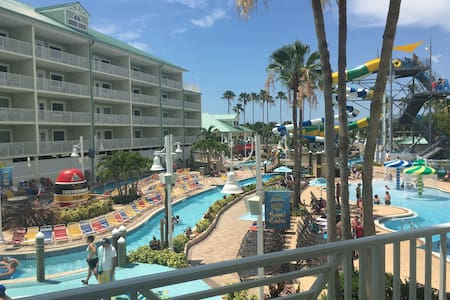 Waterpark 2bd/2ba Double Balcony Suite + 4 passes! - Indian Rocks Beach - Συγκρότημα κατοικιών