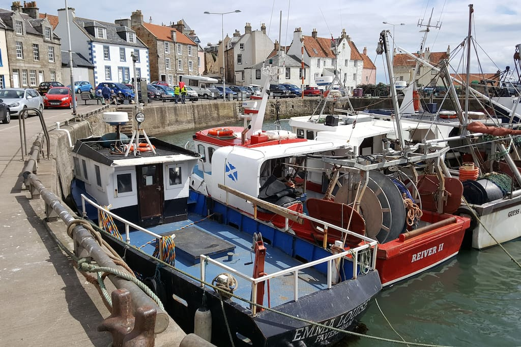 The Gyles, Pittenweem Harbour