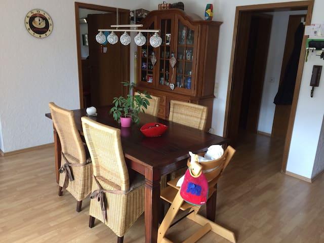 Wohnung auf Zeit - temporary accommodation - Schriesheim - Appartement