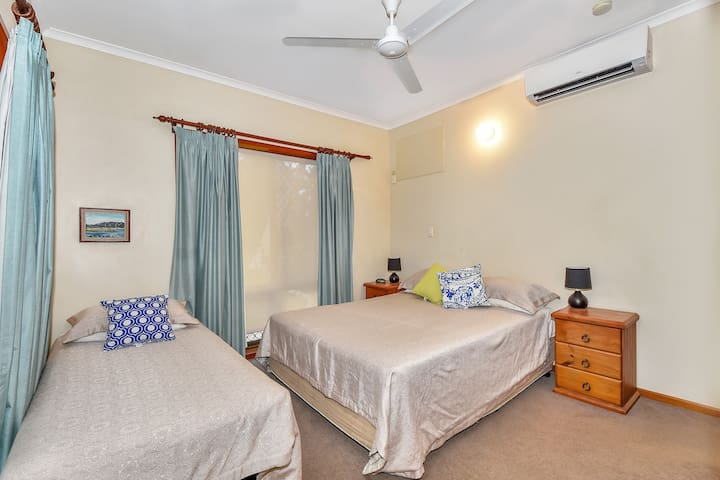 Airconditioned main bedroom