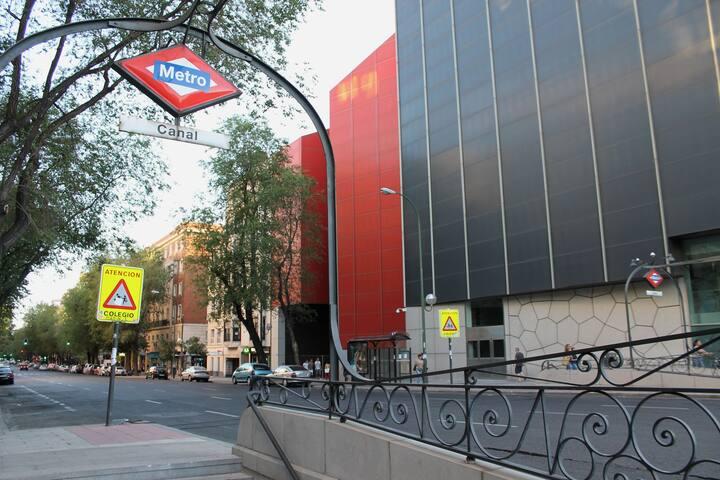 Acogedor pisito en Chamberi, muy cerca del centro. - Madrid - Pis