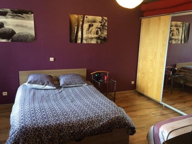 Chambre à 5km du Lux et de la Belg - Longwy - Casa