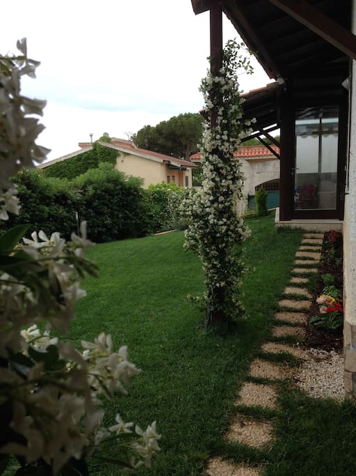 esterno e veranda