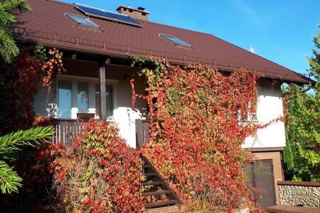 Dom na Mazurach Jezioro Omulew-bezpieczny urlop !