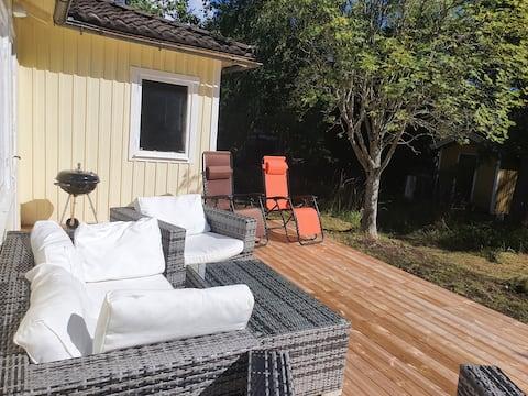 Cottage στο Dalarö με τη δική οικόπεδο κοντά στη θάλασσα