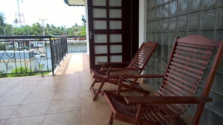 Ran-Weera Villa (Bedroom 1 -AC & ensuite bath)