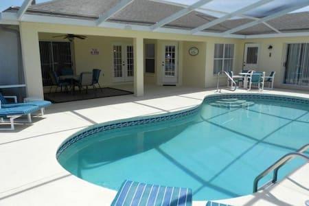 3-bedroom villa with solar heated pool - Inverness - Huvila