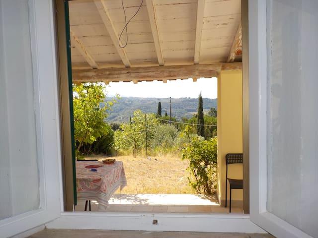 Monolocale indipendente con grande giardino - Riparbella - House