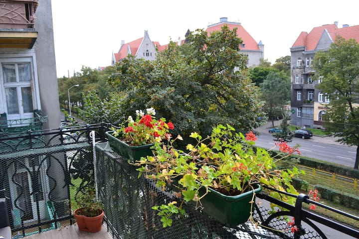 City center, sunny spacious luxury! - Szczecin - Apartment