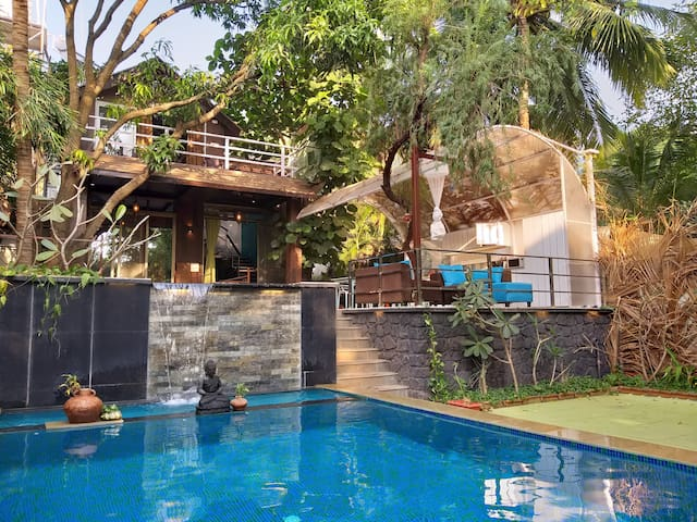 The Zen Villa, home stay near Kashid Beach.
