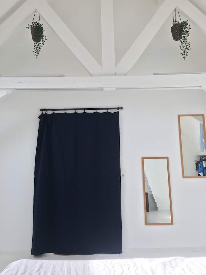Kamer in propere, gerenoveerde woning