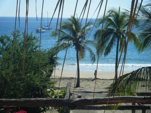 귀여운 아파트 - 큰 발코니! 아름답고 평화로운 해변 1