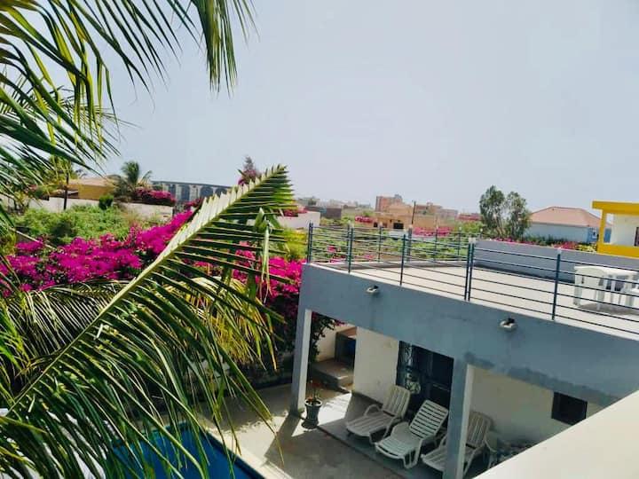 Villa avec piscine à louer par journee