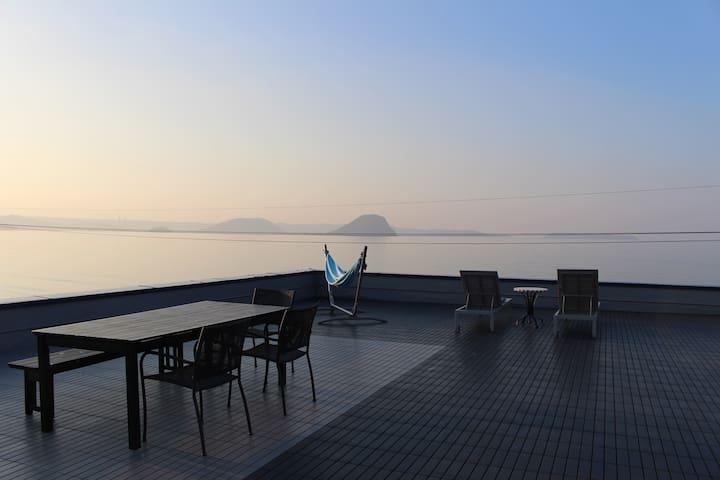 満天の星空に囲まれた最高の景色の唐津・佐賀リゾートホテルOcean - Karatsu-shi - Apartament