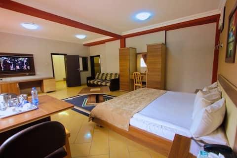 Carliza Hotel Apapa - Royal Deluxe Room