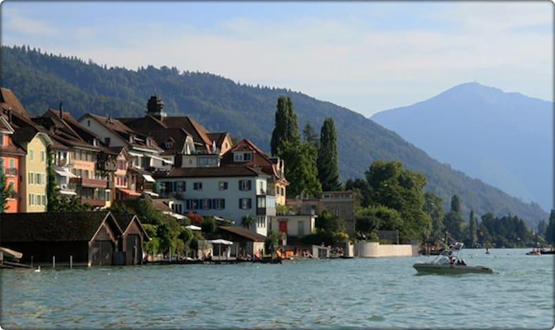 Junior Suite in Zug triplex with amazing views