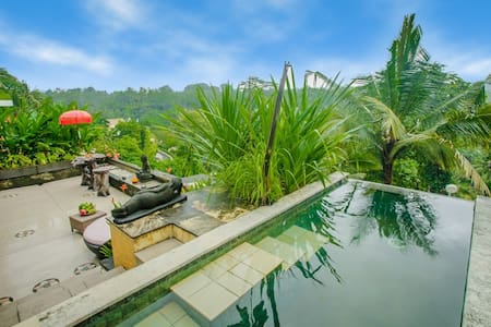Royal Private Pool Villa with stunning view - Ubud - Apartment