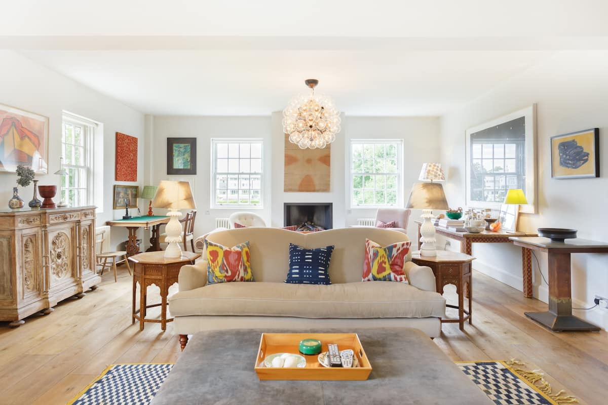 Open Plan Notting Hill Family Long Stays Work From Home