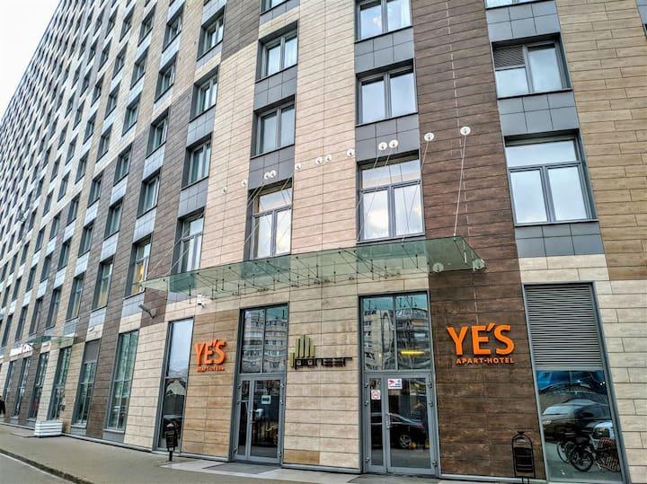 """Апарт-отель """"Yes"""" y Просвещения"""