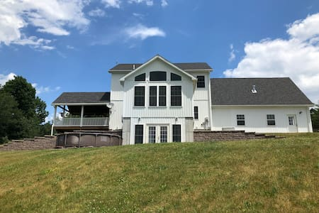 Large house for families near Cooperstown, NY