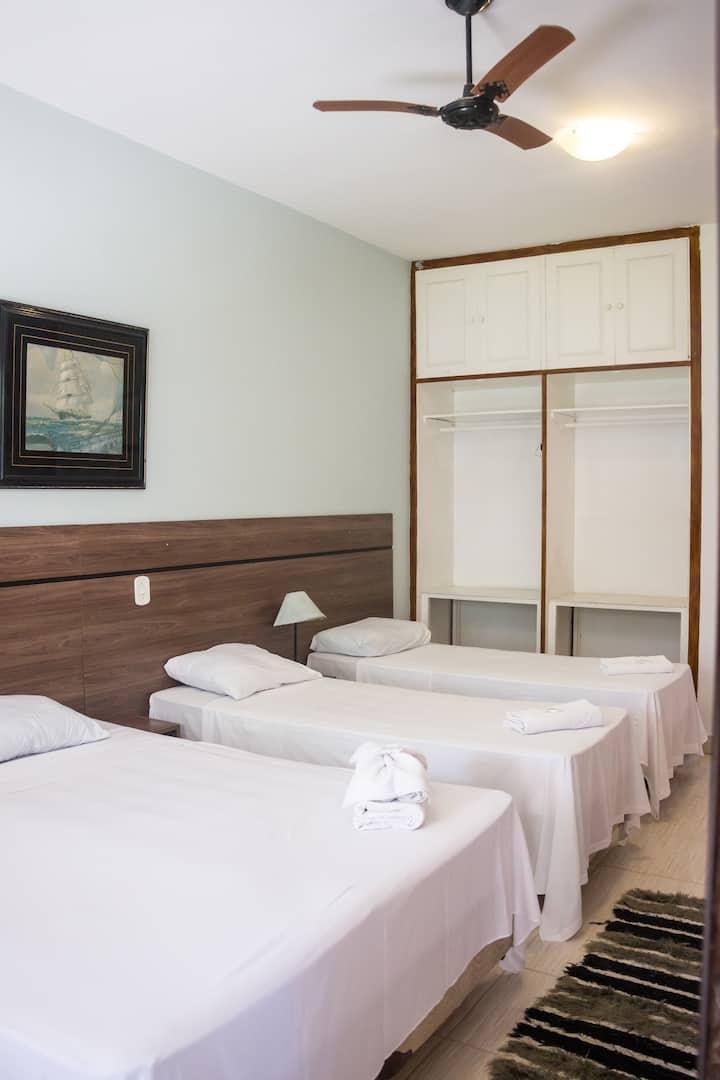 THE HOUSE PLAZA HOTEL - SUÍTE FAMÍLIA 1B  frigobar