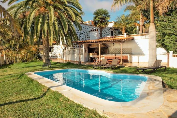 El Palmeral with Pool, Tijarafe