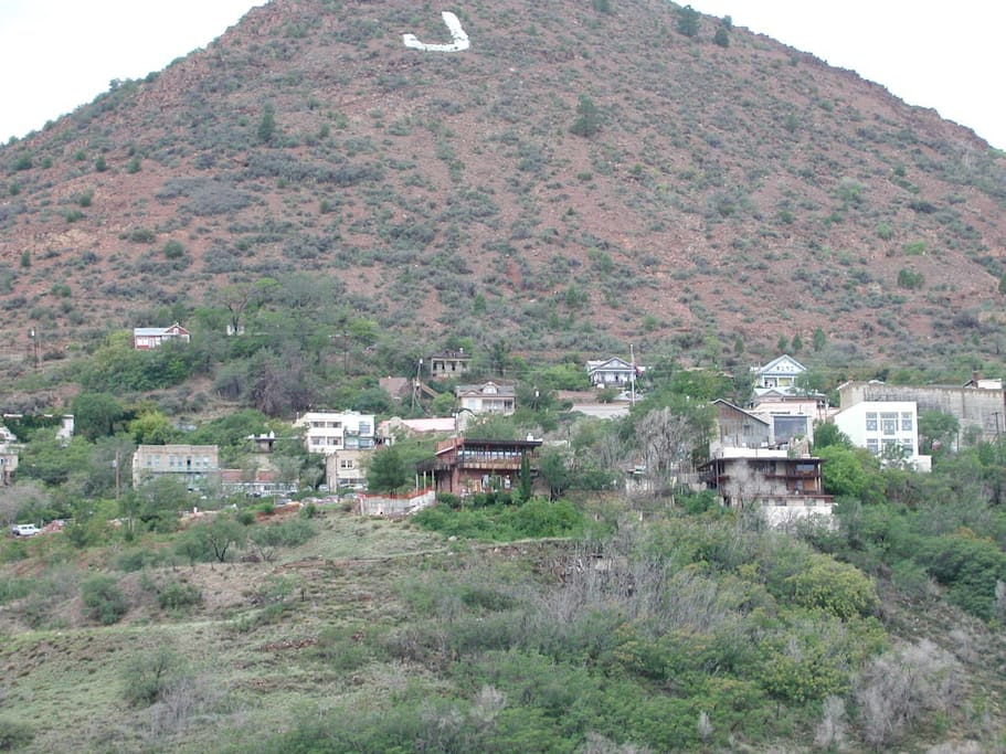 The picturesque town of Jerome, Arizona