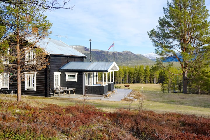 Storrøsta, quiet retreat - and great for kids