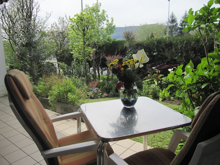 Nice apartment with garden