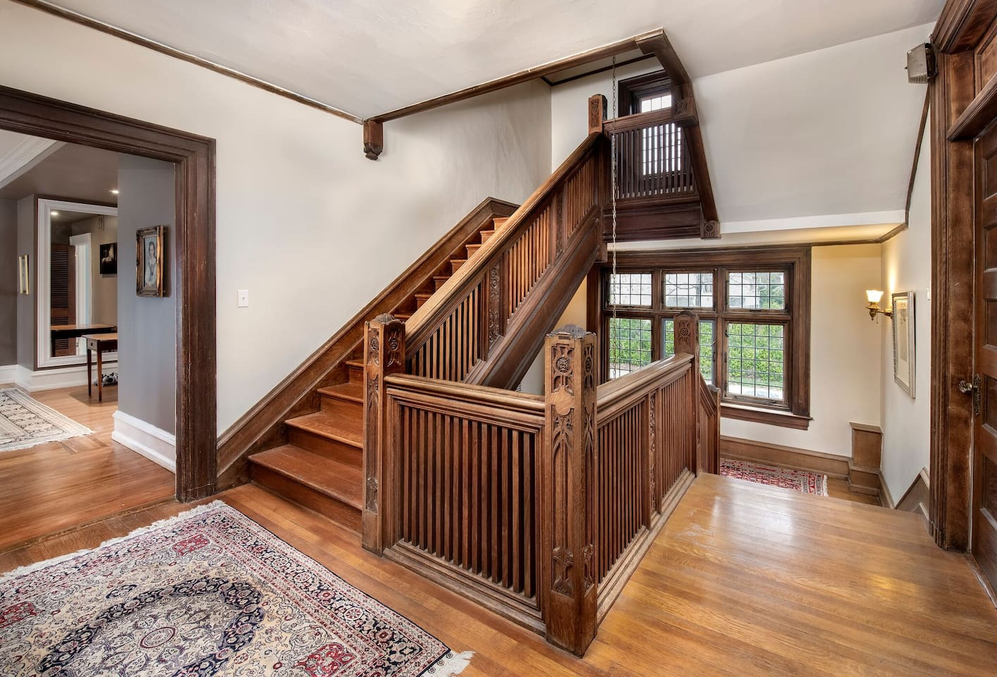 stairs leading to bedroom