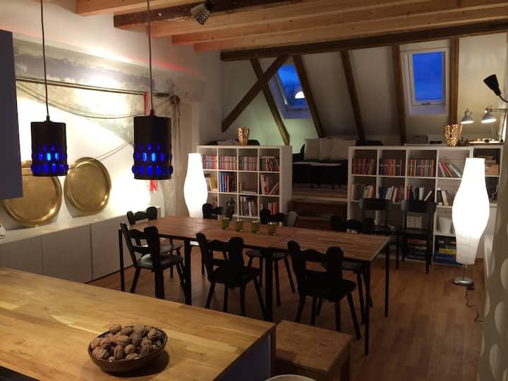 Loft-Wohnung mit Weitblick 85qm in Coburg