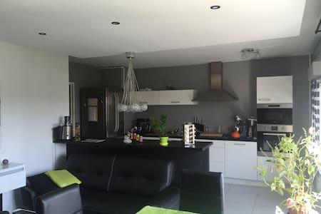 Bel Appartement 80m2 Terminus du Tram Nancy - Essey-lès-Nancy - Apartment - 2