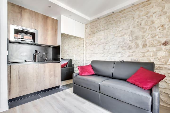 Appartement pour 2 personnes proche Tour Eiffel 01