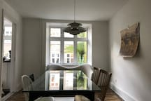 Light and large 3-Room Vesterbro-aparment