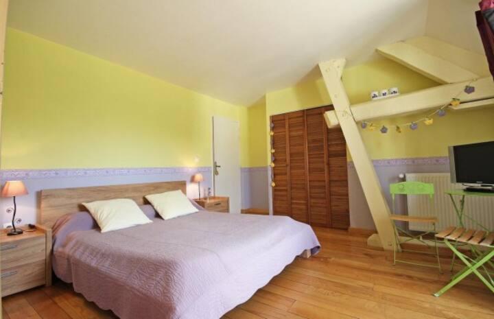 Chambre Violette et Coucou