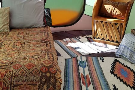 Stay cozy fall camping in style! - Khemah Tipi