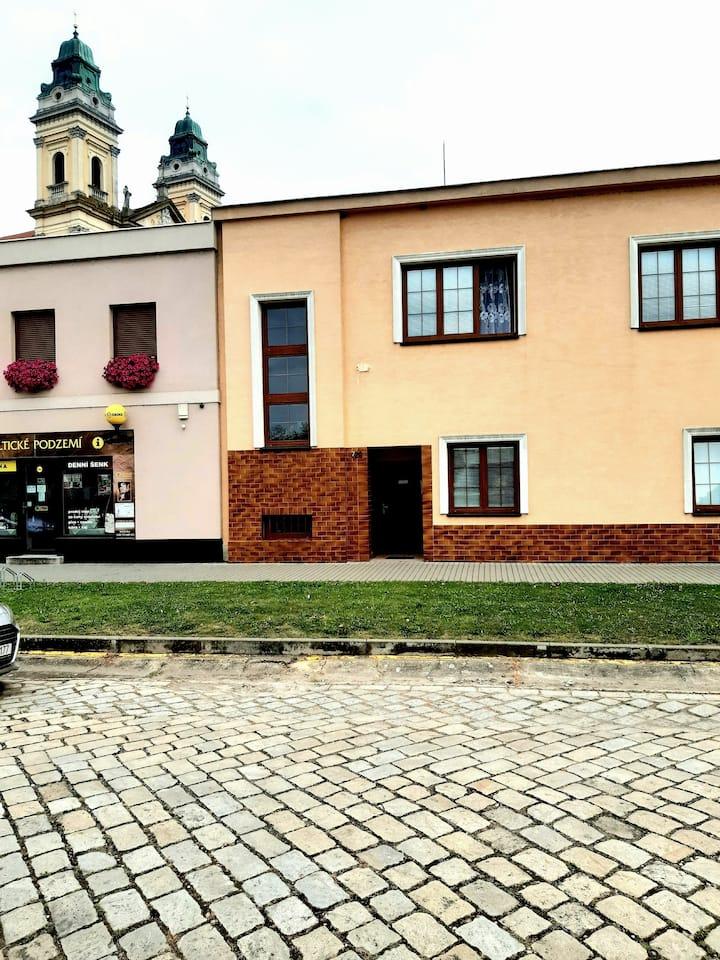 Valtice - Dům v historickém centru
