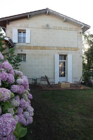 Maison entière dans un verger écologique (Bio) - Saint-Vincent-de-Paul - Haus