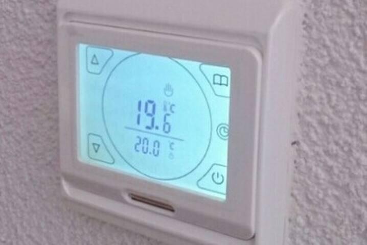 Floor heating regulator